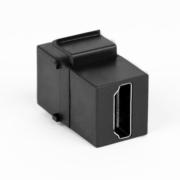 TecLines TKM004B Keystone Custom Modul HDMI 2.0 2x Buchse