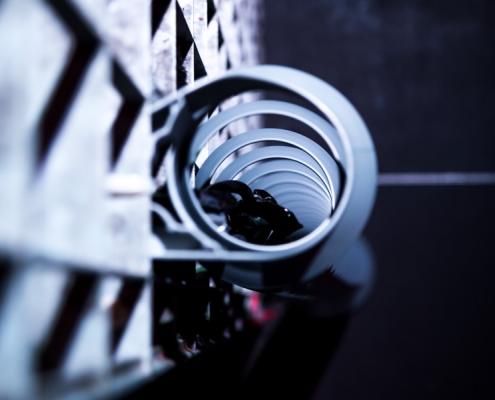 TecLines TKS001G Kabelspirale 1300mm Anwendung Club