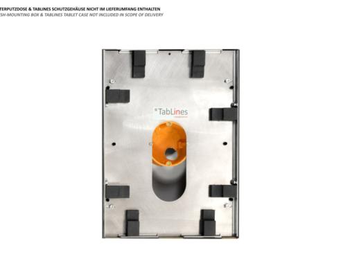 TecLines TNT001 Wandeinbau USB Netzteil für TabLines Tabletgehäuse mit Hohlwand Schutzgehäuse