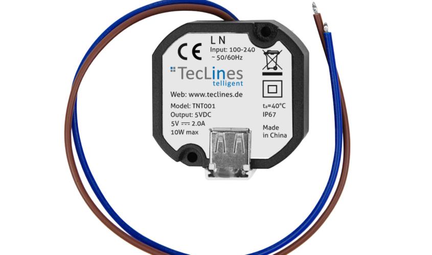 TecLines TNT001 USB Netzteil