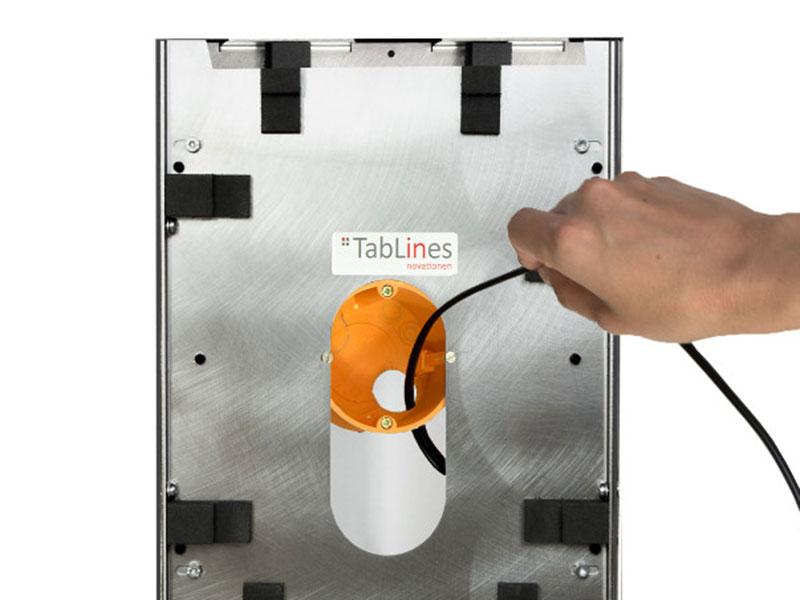 TecLines TNT001 Wandeinbau USB Netzteil Schutzgehäuse